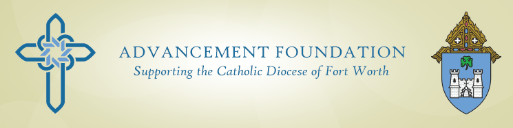 Catholic Diocese of Fort Worth Advancement Foundation Logo